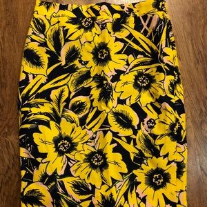 J. Crew Skirts - J Crew The Pencil Skirt 00 floral nordstrom
